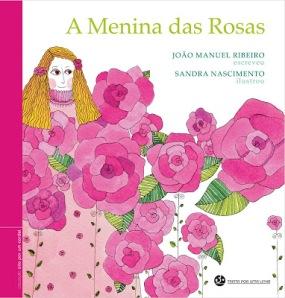 capa menina rosas